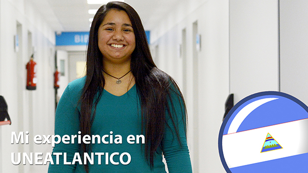 A chat with Valeria Urbina Vado, Nicaraguan student of the Undergraduate in Business Administration and Management