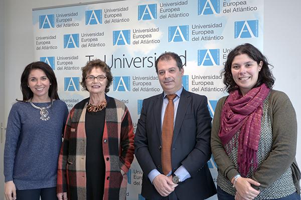 Eva de la Fuente, Esperanza Botella, Rubén Calderón and María Blanco