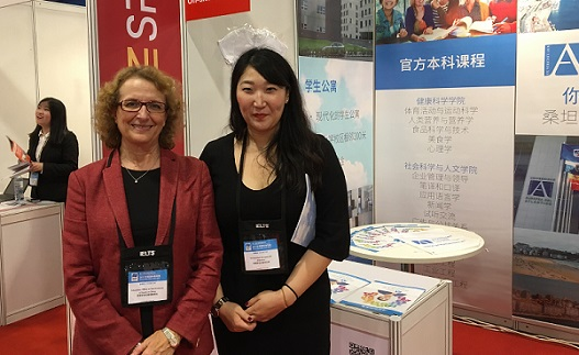 UNEATLANTICO introduced its academic offer in the Beijing, Guangzhou and Shangai university fairs