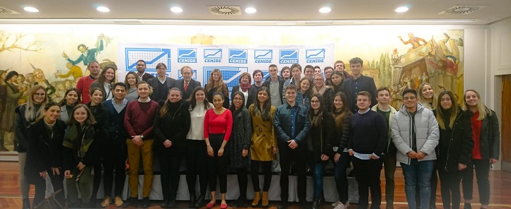 More than 50 UNEATLANTICO students attended Ramón Tamames lecture about brexit