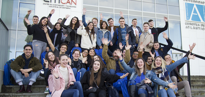 UNEATLANTICO Receives Erasmus Students for its Second Semester