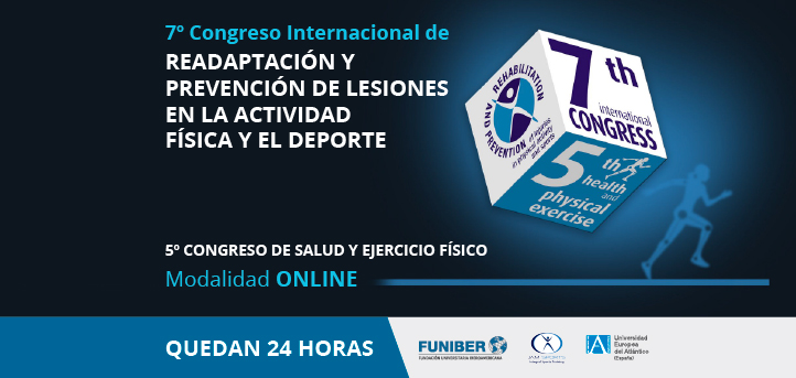 The VII International Congress on Rehabilitation and Injury Prevention organized by UNEATLANTICO has begun
