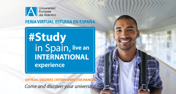 "UNEATLANTICO participates in the I Virtual Fair ""Study in Spain"" aimed at students from Sub-Saharan Africa"