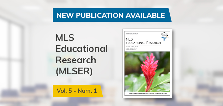 The MLS Educational Research journal, sponsored by UNEATLANTICO, publishes a new issue