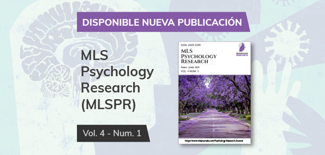Another biannual issue of the scientific Psychology Research journal, in which a group of professors collaborated in, has been published.
